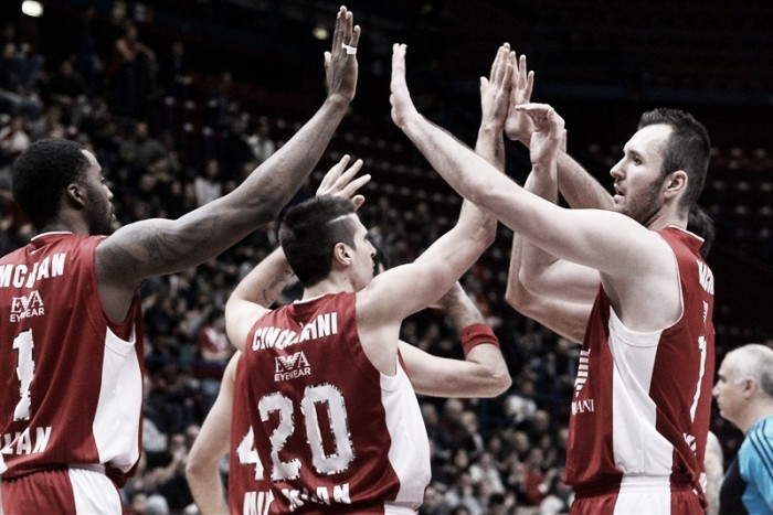EA7 Milano - Enel Brindisi in Lega Basket Serie A 2016/17 (99-86)
