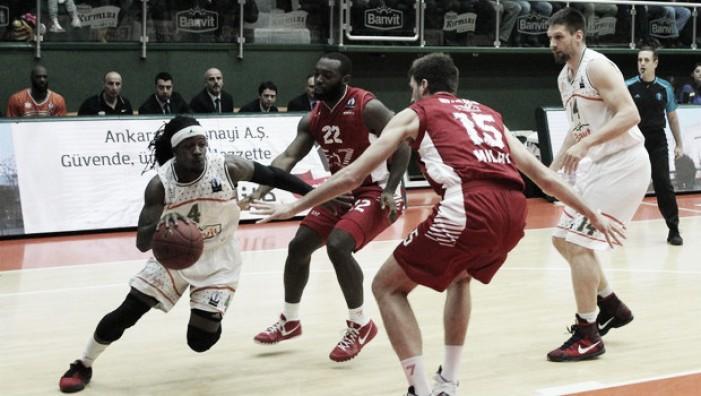 Risultato finale EA7 Milano - Banvit (79-76): vittoria sofferta dei biancorossi, ora c'è Trento ai quarti