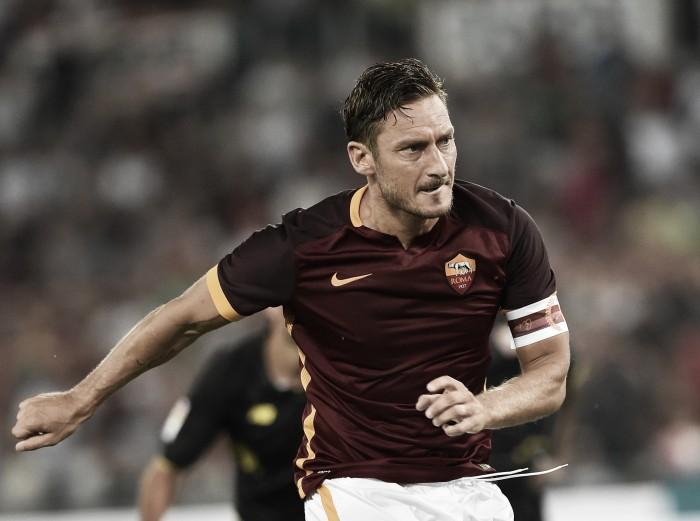 Roma, Totti scalpita: rientro previsto contro il Chievo