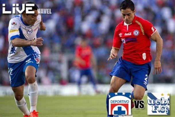 Resultado Cruz Azul - Puebla en Liga MX 2014 (1-0)