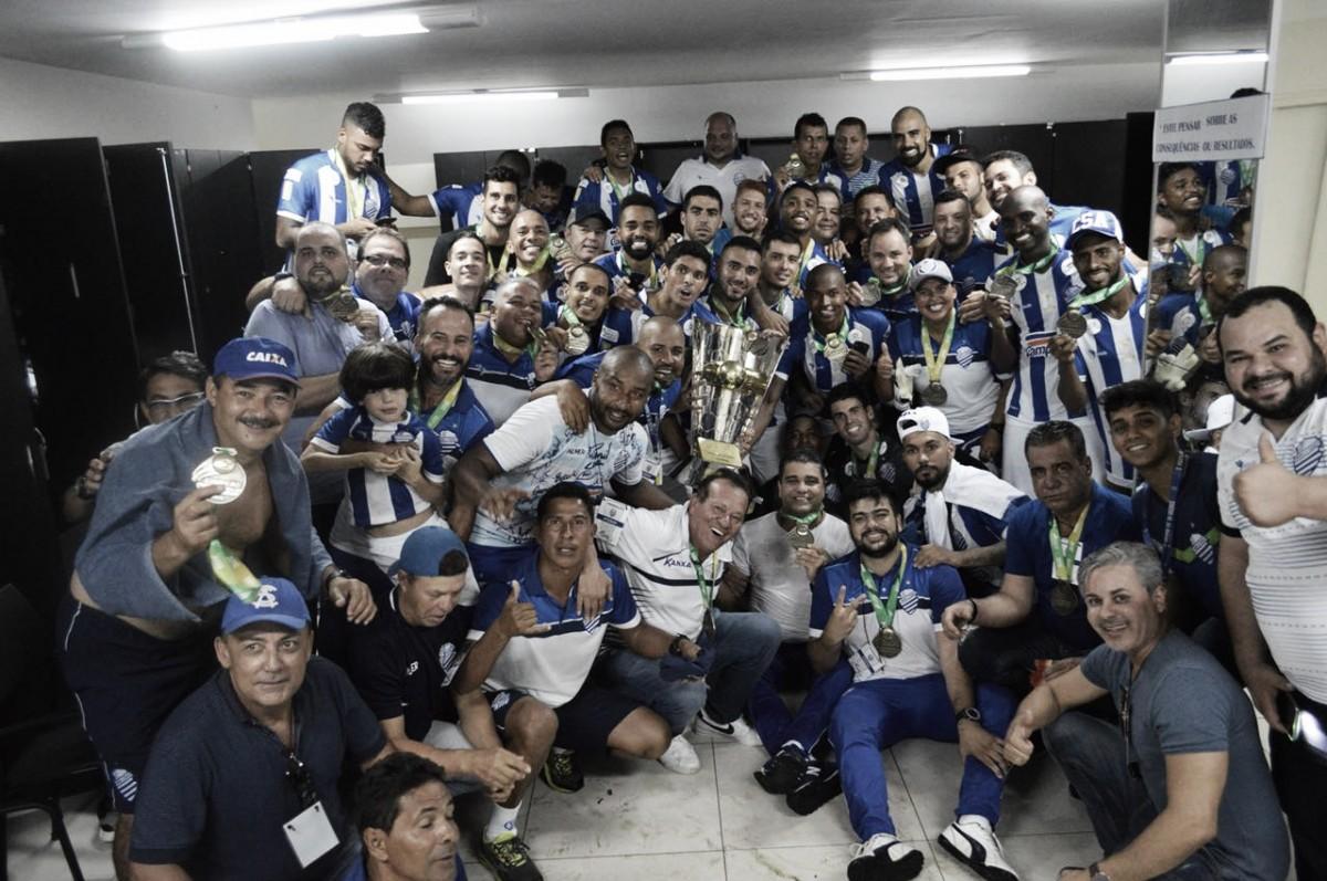 Enfim, 38! CSA reverte vantagem, evita tetra do CRB e conquista Alagoano após uma década
