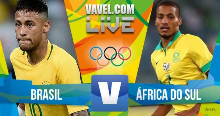 Resultado Brasil x África do Sul no Rio 2016 (0-0)