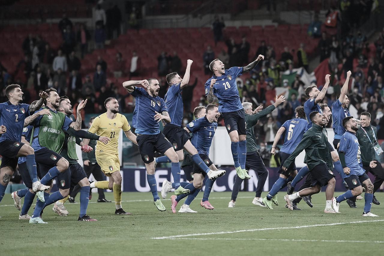 Pênaltis, sofrimento e emoção: Itália supera Espanha e volta à final da Euro após nove anos