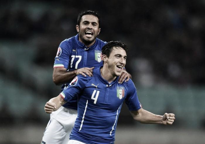 """Italia, Eder e Darmian verso una maglia da titolari. Tavecchio: """"Convinto che faremo bene"""""""