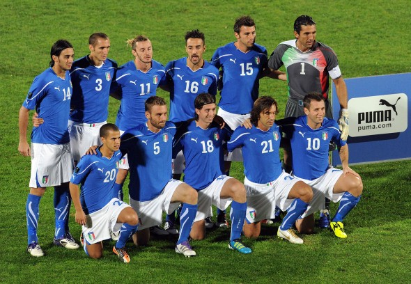 Prandelli Names Provisional Squad for EURO 2012