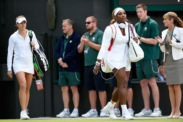 Clamoroso a Wimbledon, Serena Williams eliminata