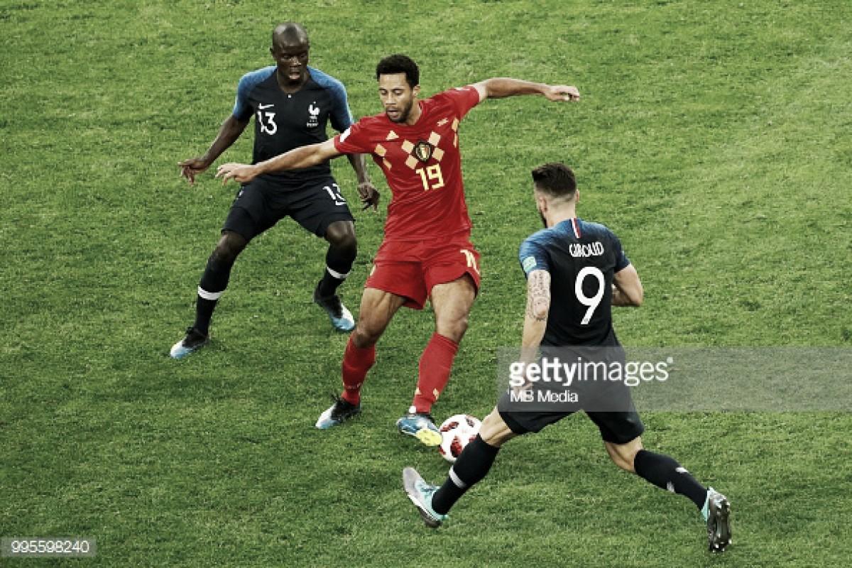 Francia-Bélgica: el uno por uno de Bélgica en la semifinal del Mundial de Rusia 2018