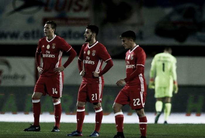 V. Setúbal x Benfica : Erro próprio, muita correria, pouco tino e um erro alheio
