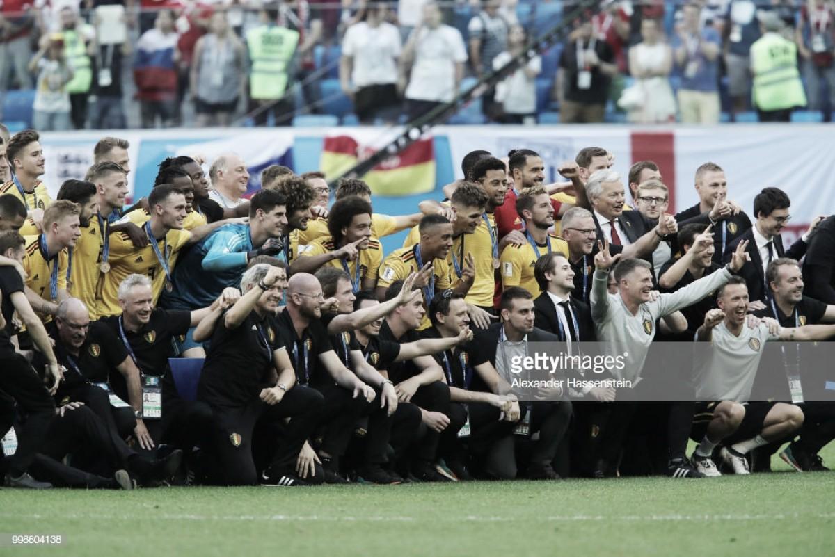 Vitória belga no jogo de consolação