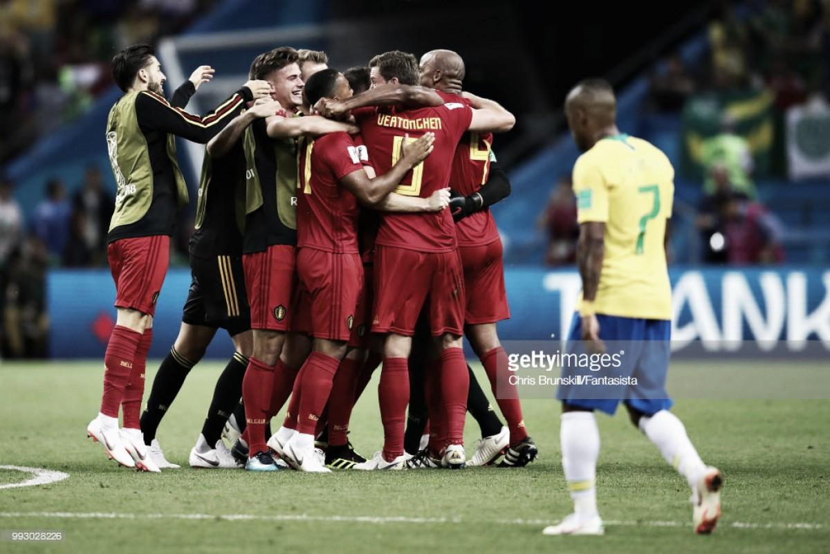 Bélgica deixa Brasil pelo caminho