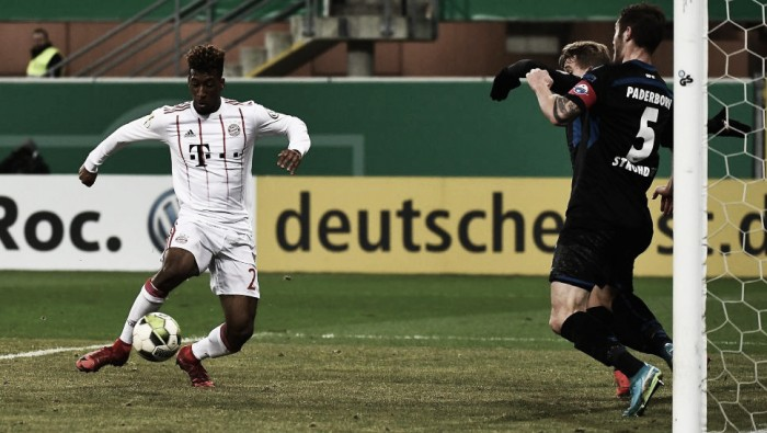 Com facilidade, Bayern goleia Paderborn e avança à semifinal da Copa da Alemanha