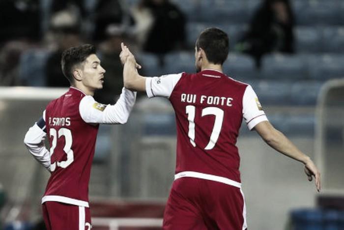 Taça da Liga: Sporting Braga bate Vitória Setúbal e está na final