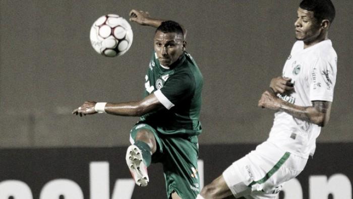 Aylon marca no fim, Goiás bate Juventude e se afasta do Z-4