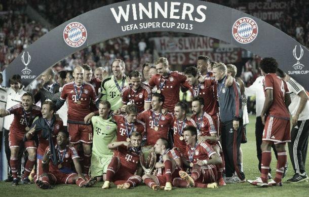 La Supercopa de Europa se marcha a Münich