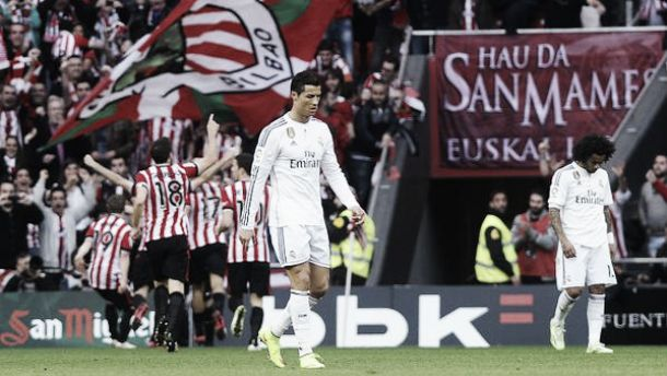 Athletic Bilbao 1-0 Real Madrid: Hosts secure shock victory as leaders falter