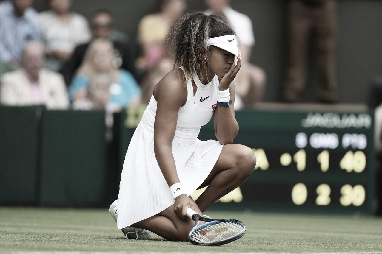 Naomi Osaka se despide pronto de Wimbledon