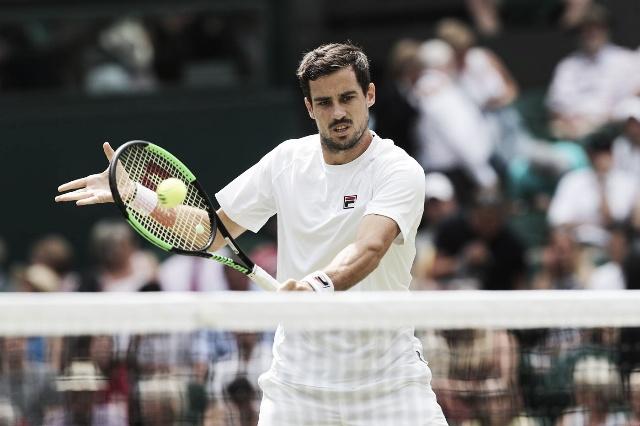 Guido Pella tumbó a Kevin Anderson en tercera ronda de Wimbledon
