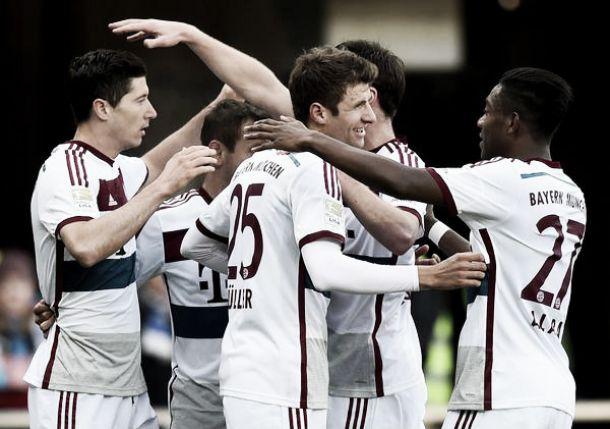 Il Bayern strapazza il Paderborn: finisce 6-0 per i bavaresi