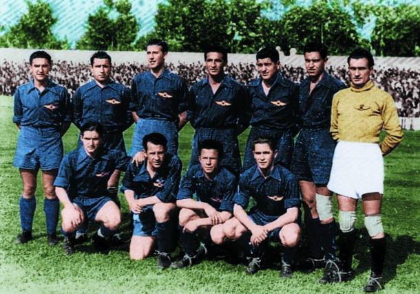 Segunda equipación Atlético Aviación