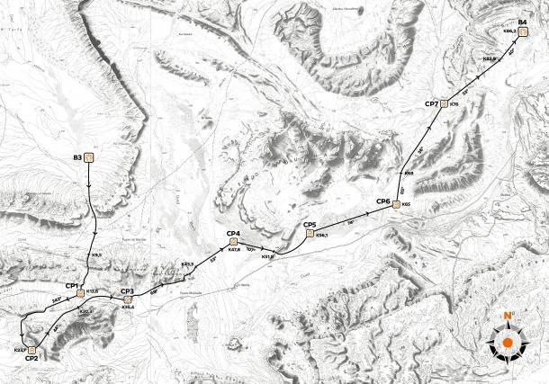 mapa de la cuarta etapa|www.marathondessables.com