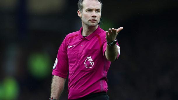 Paul Tierney, árbitro del partido | Fotografía: Premier League
