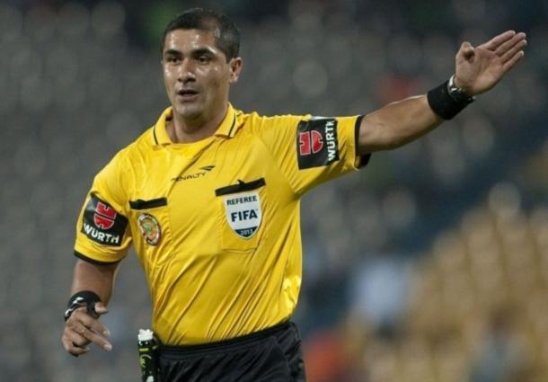 Roddy Zambrano, árbitro del partido Uruguay - Perú de hoy