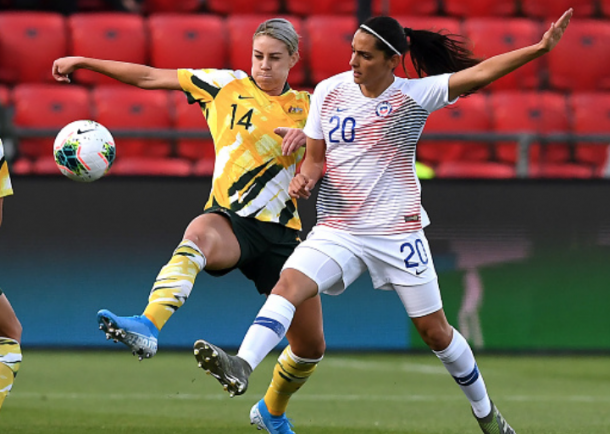Orlando Pride and Australian defender Alanna Kennedy #14 (Photo by Mark Brake/Getty Images)