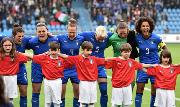 Italy are ready for their return to the Women's World Cup. (Photo by Tullio M. Puglia/Getty Images)