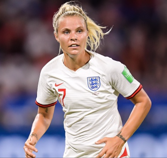 England and Houston Dash player Rachel Daly. (Photo by VI Images via Getty Images)