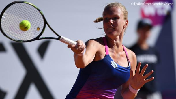 Bertens reached the final in Gstaad, finishing runner-up to Swiss Viktorija Golubic/Photo: Ladies Championship Gstaad