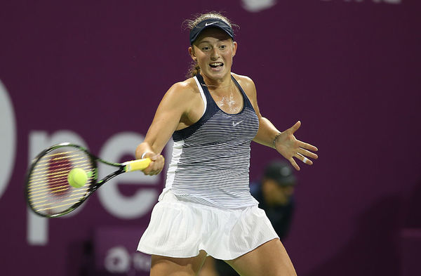 Doha proved to be Ostapenko's breakout week. Image Credit: Getty