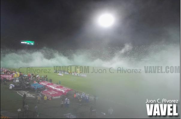 A 'casa llena' el vigente Campeón de América aguardaba este clásico ante Millonarios. | Foto: VAVEL