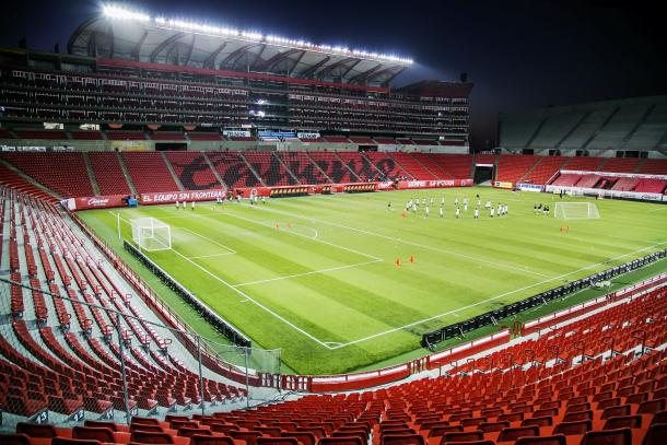Estadio Caliente, actual casa de los Xolos de Tijuana. / Fuente: Wikimedia Commons