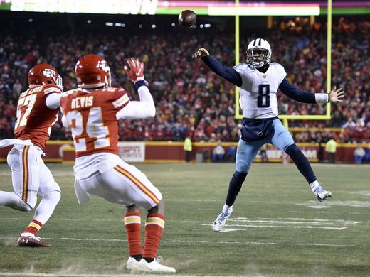 This pass was ultimately caught by Marcus Mariota himself for a touchdown to start the comeback for the Titans