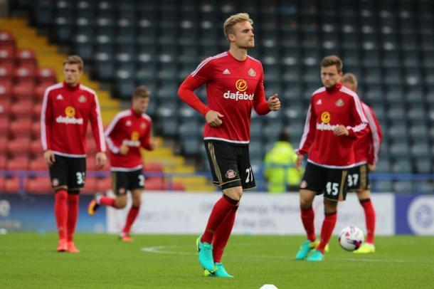 Kirchhoff featured in the Under-23's Checkatrade Trophy fixture against Rochdale in midweek | Photo: The Chronicle