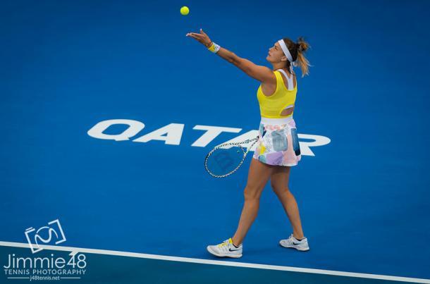 Sabalenka is into her 10th career final/Photo: Jimmie48/WTA