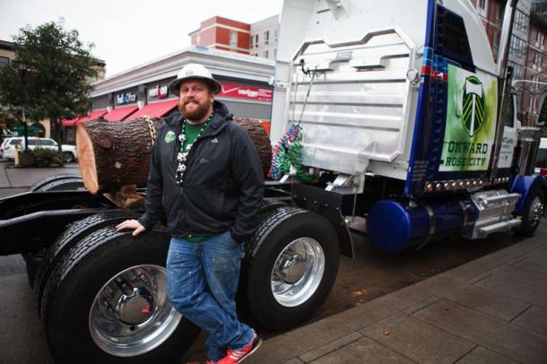 Timber Joey recorrió el país de una punta a otra(Imagen: portlandtribune.com)