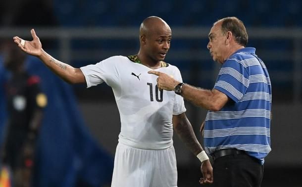 Ayew could miss Ghana's double header next week. | Photo: Times of Israel