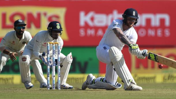 Stokes took the attack to the India bowlers throughout his innings | Photo: ECB