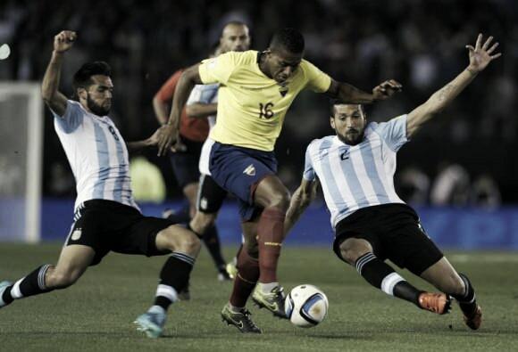 El último partido fue 2-0 para Ecuador   Foto: AFA