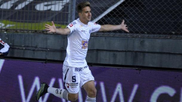 Ezequiel Rescaldani, el goleador de Quilmes en el torneo | Foto: Infobae