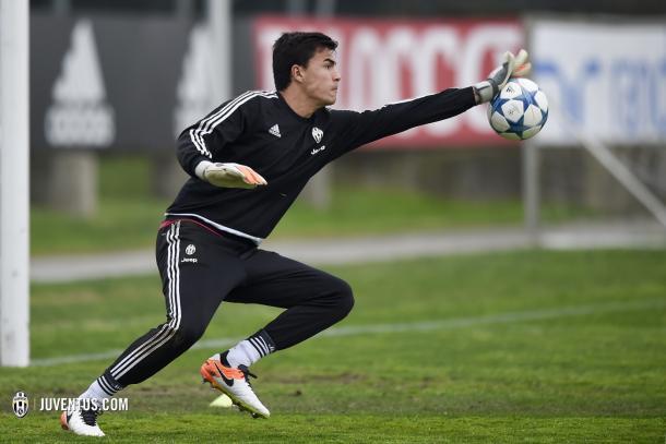 Emil Audero | Fonte immagine: Juventus.com