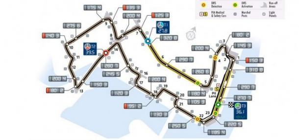 Circuito de Marina Bay   Foto: F1