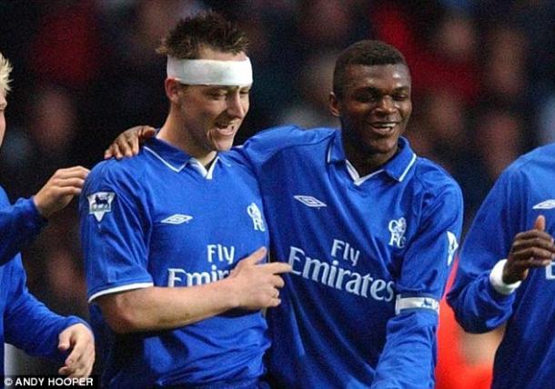 Desailly dejó Chelsea hace 13 años para que Terry ocupara su lugar. Foto: Andy Hooper.
