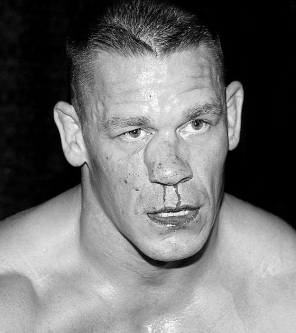 Cena suffers a broken nose after competing against Seth Rollins. wwe.com