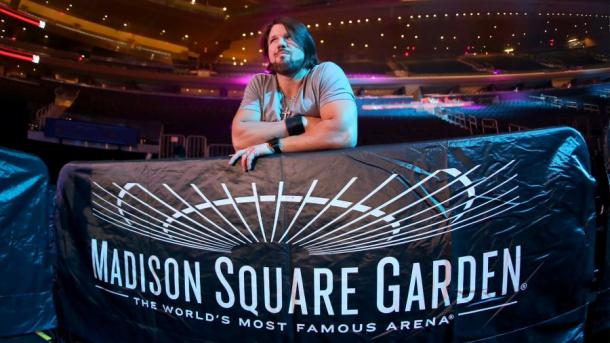 AJ Styles captured the NXT Championship at Madison Square Garden event (image: WWE)