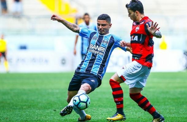 Grêmio encerrou Brasileirão com reservas (Foto: Lucas Uebel)
