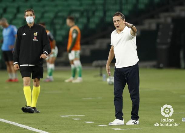 Alexis durante el Betis - Espanyol | Fotografía: LaLiga