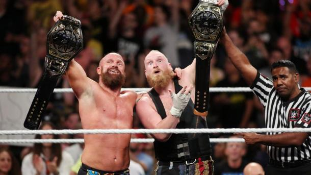 Eric Young and Alexander Wolfe have limited competition in the tag-team division (image: wwe)