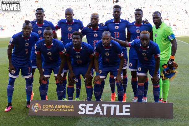 Haiti fought hard in the Copa America Centenario but ended the tournament with zero points. Photo provided by VAVEL.